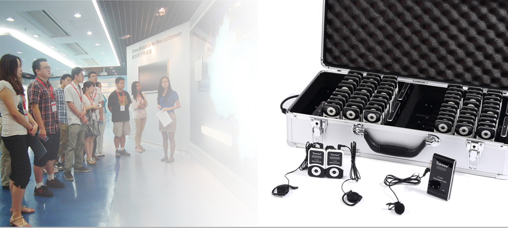 2016 Hot Selling Product Professional Wireless Audio Tour Guide System with Earphone for Training,Church,Meeting