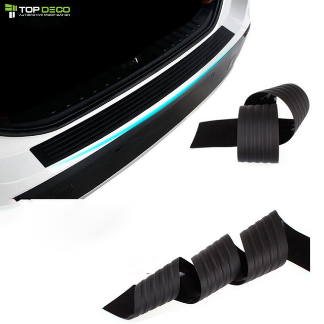 New Rubber Rear Guard Bumper Protector Trim Cover For Citroen Grand C4 Picasso C4 Aircross C Elysee DS3 C5 C4