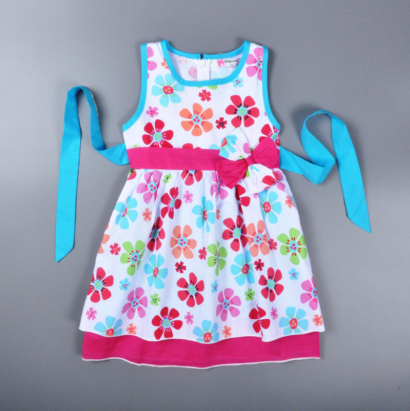 Buy baby girl dress 2015 summer style Baby clothing designers