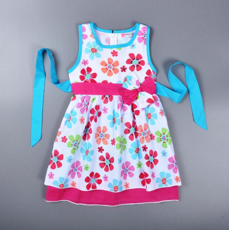 Buy baby girl dress 2015 summer style Baby clothing designers