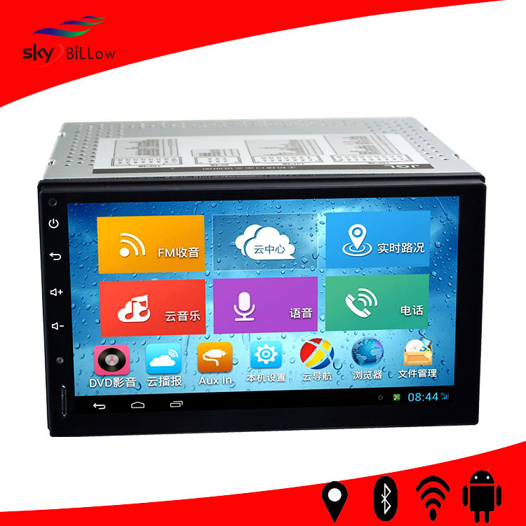 Universal 1080x800 Pixels 7 inch Touch Screen Car GPS Navigation Navigator with 3G WIFI Bluetooth Mobile Phone Functions(China (Mainland))