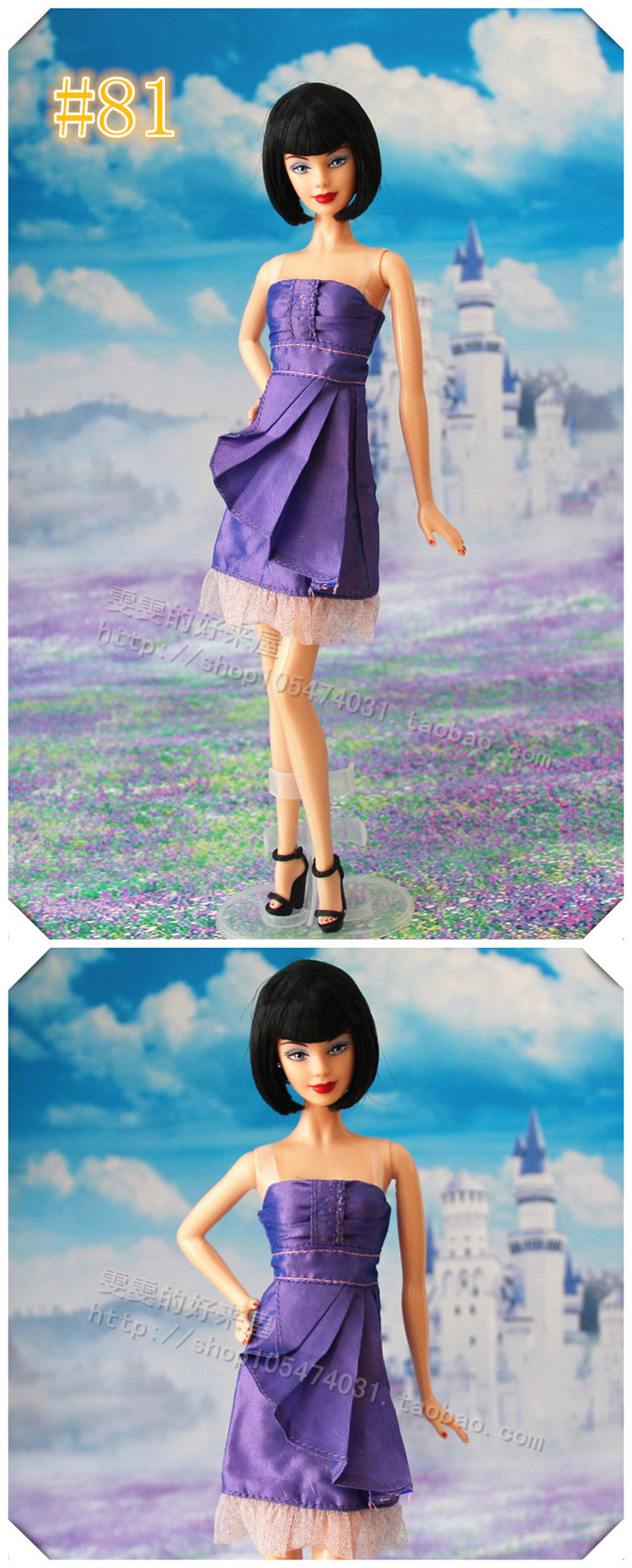 10 New kinds Pageant Presents For Ladies Reward Doll Equipment way of life Go well with  High +pant Garments For Barbie 1:6 Doll BBI00113