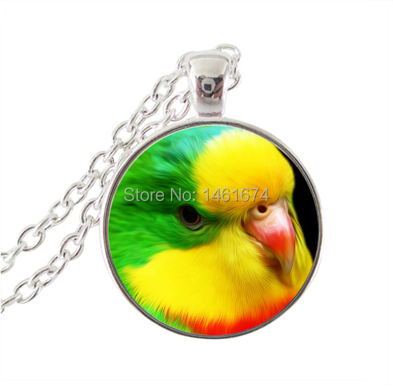 vintage bird jewelry parrot necklace colorful animal pendants necklace men womens jewellery bib necklace collares jewelry(China (Mainland))
