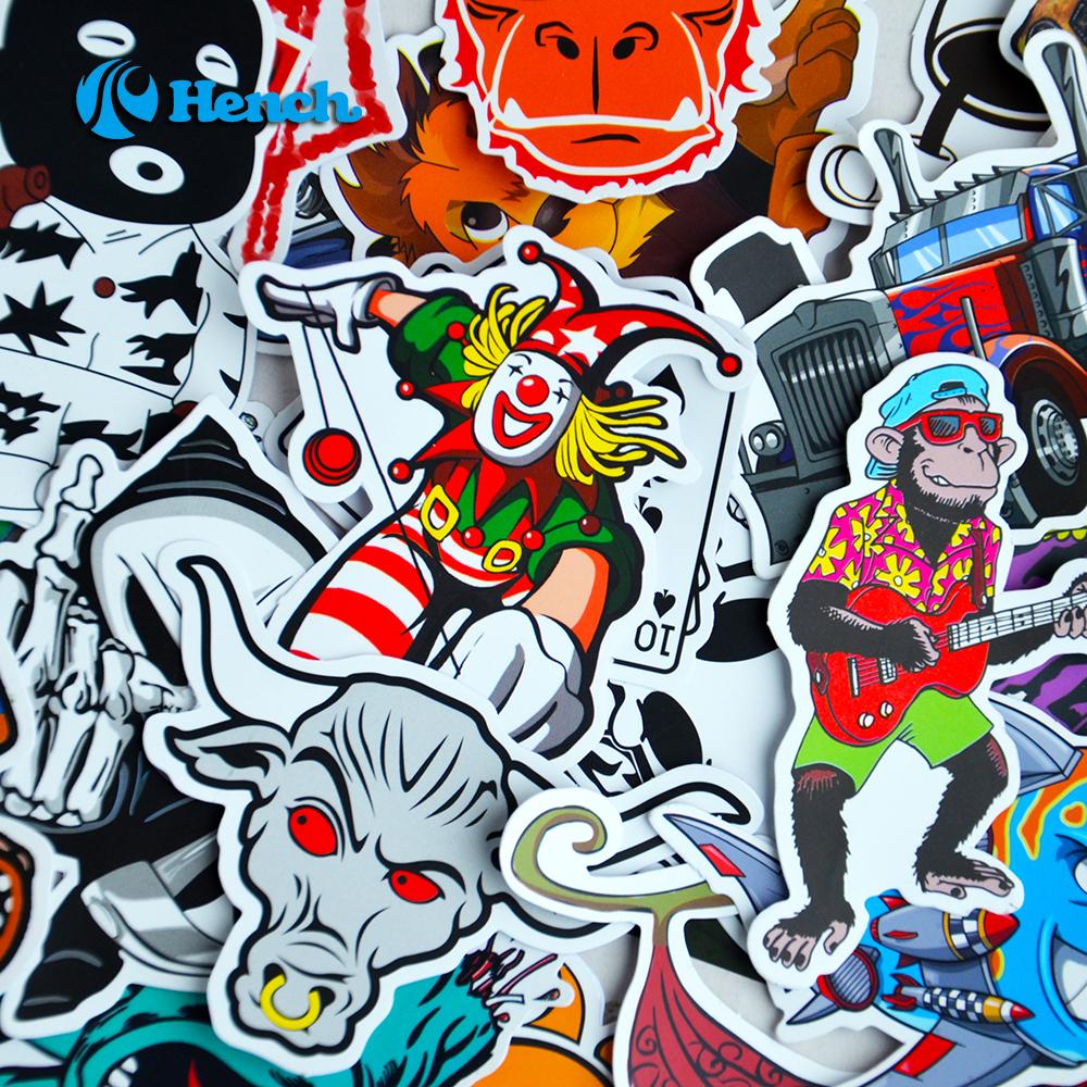 100 jdm stickers set