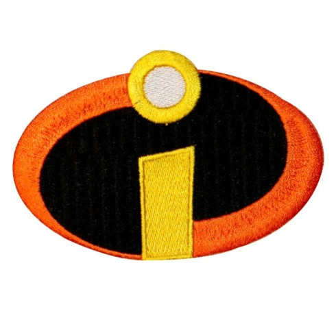 Incredibles Logo Patch The Incredibles Logo Costume