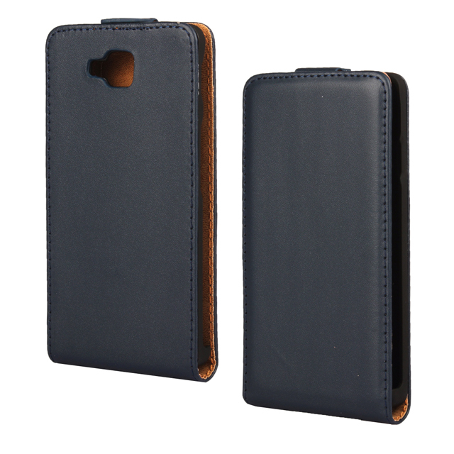 For LG Optimus L9 II 2 D605 Genuine Leather Vertical Flip Case Cover ...