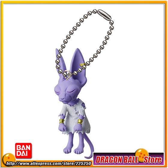 DRAGONBALL Dragon Ball Z Original BANDAI Phone/Key Chain Gashapon PVC Toys Figures UDM Burst 14 - Beerus DRAGON BALL Store store
