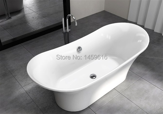 71' Sea Shipping Freestanding bathtub and Acrylic +ABS composite board Piscine Soaking Hot tub