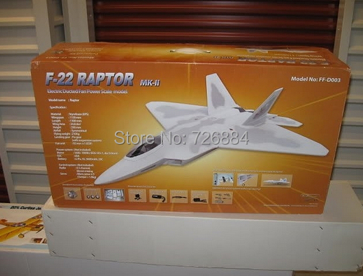 Flyfly F22 r rc jet airplane model KIT WITH MOTOR and PNP Flyfly hobby(China (Mainland))