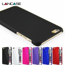 For iPhone 6 Case Fashion Rubberized Matte Frosted Plastic Case For iPhone 6S/6 Plus/6S Plus/5S/5SE/4S Cover Cell Phone Cases(China (Mainland))