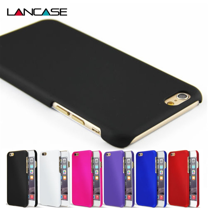For iPhone 6 Case Fashion Rubberized Matte Frosted Plastic Case For iPhone 6S/6 Plus/6S Plus/5S/5 SE/4S Cover Cell Phone Cases(China (Mainland))