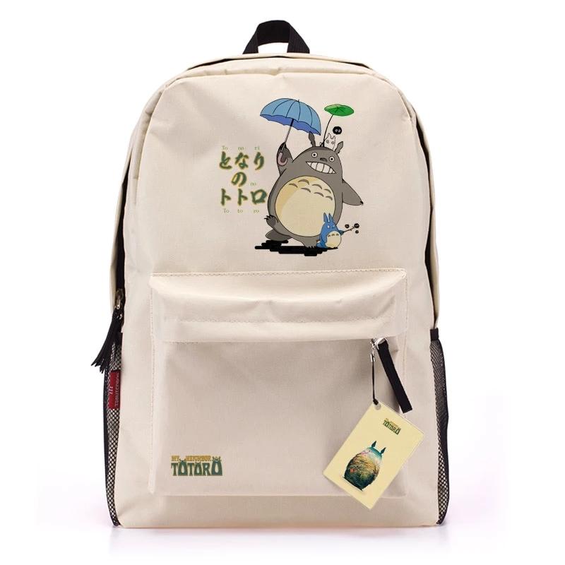 Tonari no Totoro Schoolbag Anime Cartoon Manga Game Backpack for Travel Leisure Activities free shipping wholesale(China (Mainland))