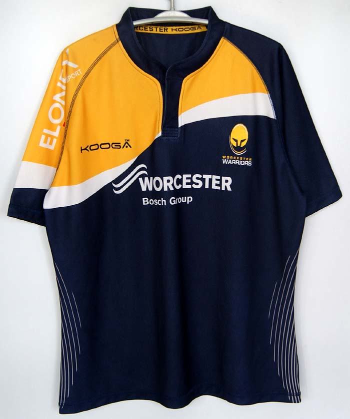 Kooga WARRIORSS Rugby Jersey Men Short Sleeve Rugby Shirt Size S,M,L(China (Mainland))