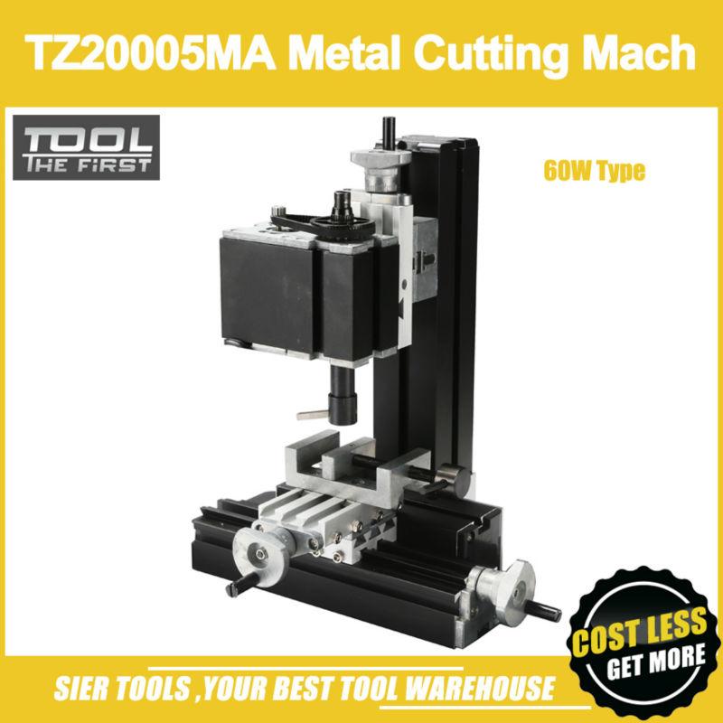 TZ20005MA 60W Metal Milling Machine/60W,12000rpm Powerful cutting mach/mini vertical milling(China (Mainland))
