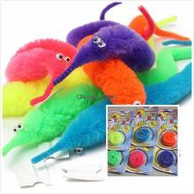 2015 nuevo estilo caliente venta magia Twisty Fuzzy gusano Wiggle mudanza Sea Horse niños truco animales de juguete calle para regalo de los cabritos