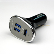 Quality Super 3 USB 5V 6.3A USB Car Charger Adapter For iPhone / SamSung S6 S5 S4 S3 Note 4 3 / all mobile phone / Pad / Car DVR(China (Mainland))