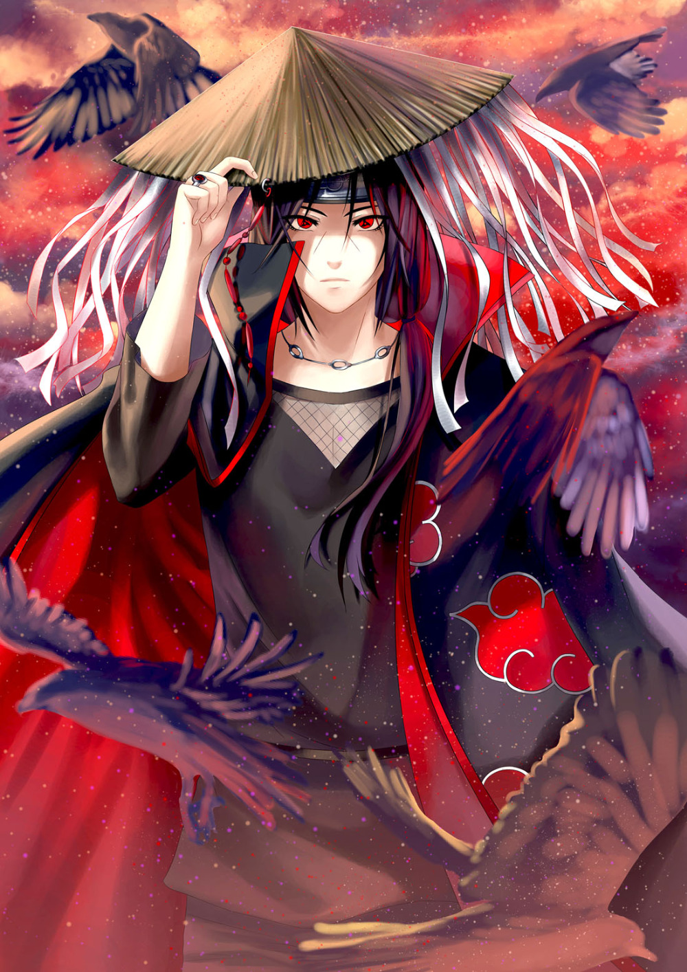 2016 (The vote) P1114-Naruto-Uchiha-font-b-Itachi-b-font-Anime-Wallpaper-Poster-Wall-font-b-Art-b