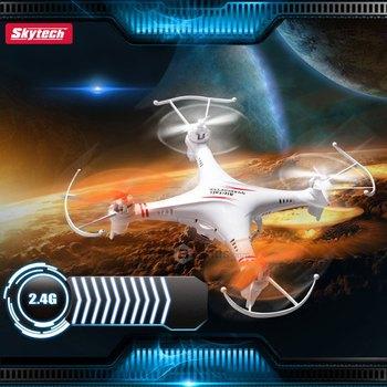 2015 новый Skytech M62 4CH вертолет Quadcopter 2.4 ГГц беспроводная дрон 6 оси гироскопа с HD вспышка фонари подарков