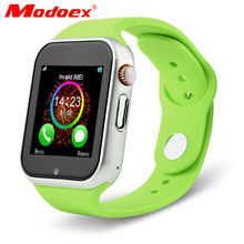 brand Modoex Children's women's OLED touch sreen jelly colors SIM Card silicone bluetooth smart sport watch for Android phones(China (Mainland))