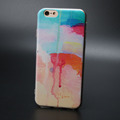 Designer Watercolor Painting Soft TPU Case for iPhone 6 6s Covers Silicon Art Graffiti Cute Colorful