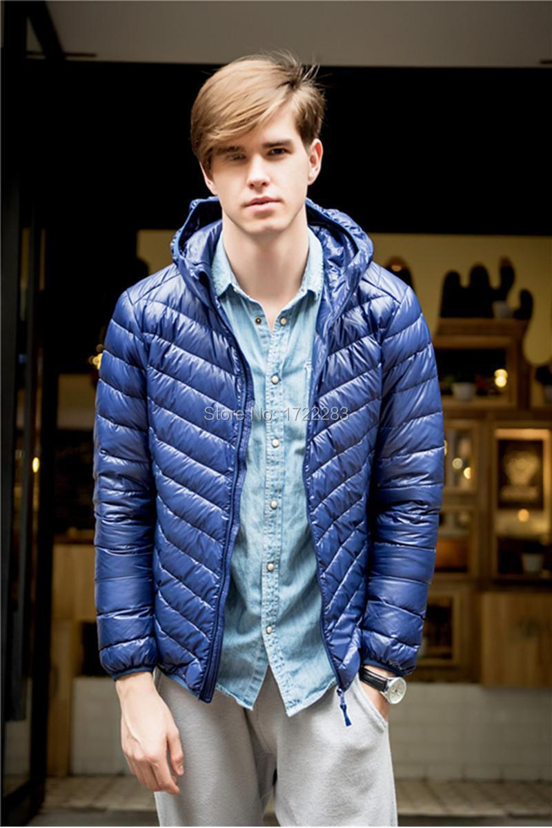 Mens Packable  Ultra Light Down Parka Water Defender 2015 New Fall Winter Casual OuterwearОдежда и ак�е��уары<br><br><br>Aliexpress