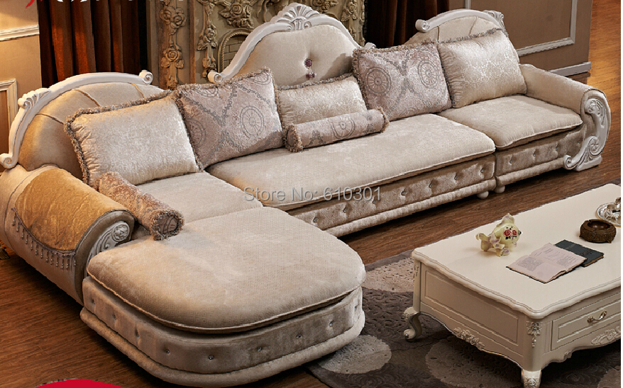 European style sofa new classics French sofa designs on