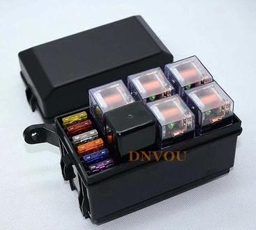 free shipping auto fuse box 6 relay relay holder 5 road the nacelle insurance car insurance with