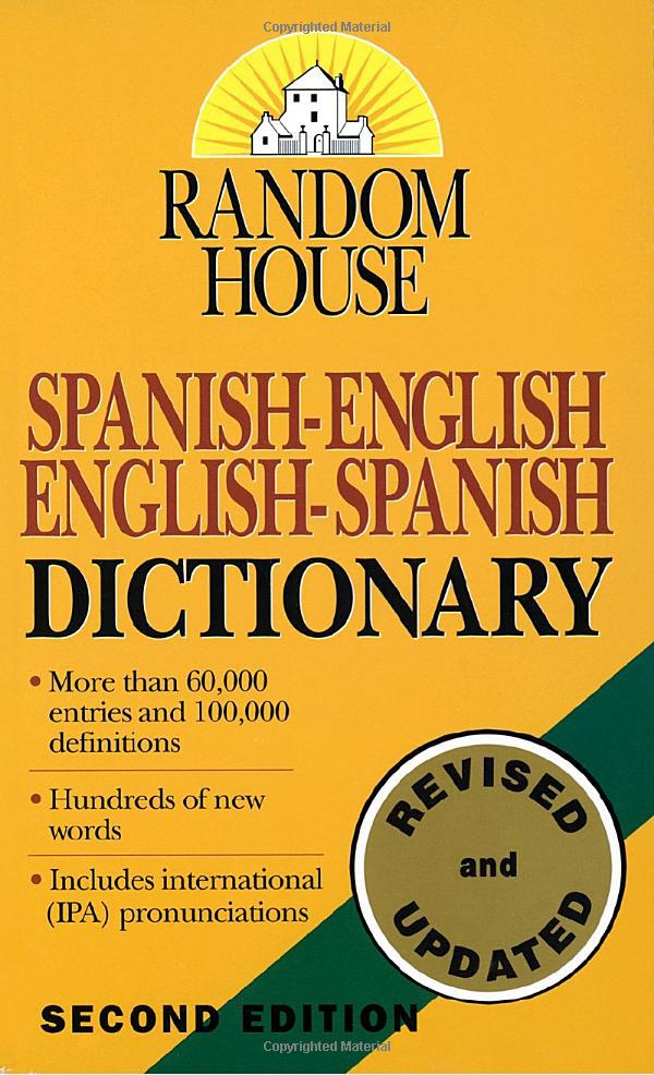 Random House Unabridged Dictionary 2nd Edition