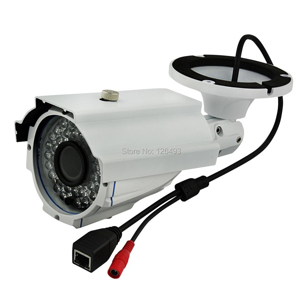 Outdoor waterproof CCTV Surveillance IP Camera with HD 4-9MM Varifocal Lens, With 35-40M IR distance. Zoom & Focus adjustable(China (Mainland))