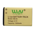 Original Rechargable Li ion Battery Pack for WLN KD C1 Airfree AP 100 Two Way Radio
