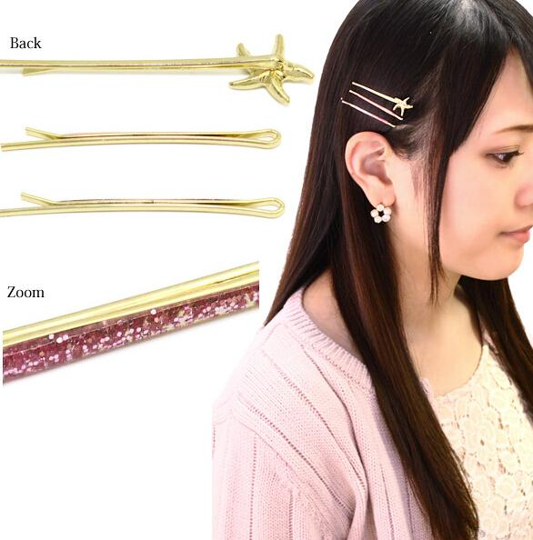 New 2016 3X Woman's Headwear Faux Crystal OL Style Clip Hair Clips Hairpin Barrette(China (Mainland))