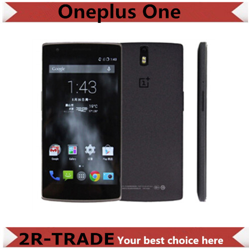 Original Oneplus One 64GB plus one 4G FDD LTE Mobile Phone Snapdragon801 Quad Core 5.5'' FHD NFC 3GB RAM - 2R-TRADE store