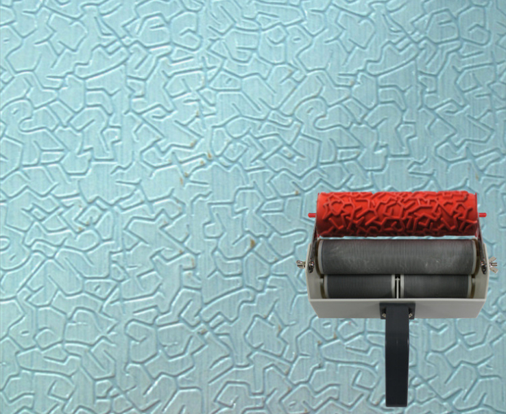 Wall Decoration Roller : Wall printing mould novlty households patterned roller for