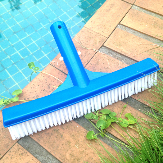 swimming pool brush plastic 10 inch cleaning brush vacuum brush swimming pool floor brush(China (Mainland))