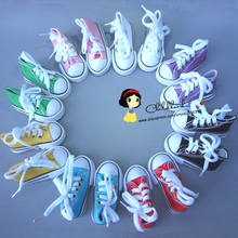 Buy Assorted Colors 7.5cm Canvas Shoes BJD Doll Toy1/4 Mini Doll sneakers Shoes 16 Inch Sharon doll Boots for $2.31 in AliExpress store