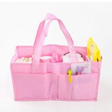 Mummy Bag Bottle Storage Multifunctional Separate Bag Nappy Maternity Handbag Baby Tote Diaper Organizer AB