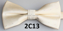 2016 Latest Style Bow Tie Male Marriage Shiny Striped Off White Bow Tie Men Accessories Candy Color Butterfly Bowtie Butterflies