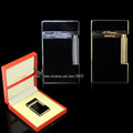HK Luxury FS Durout Pure Copper With Bright Cling Sound Cigar Cigarette Butane Gas Lighter