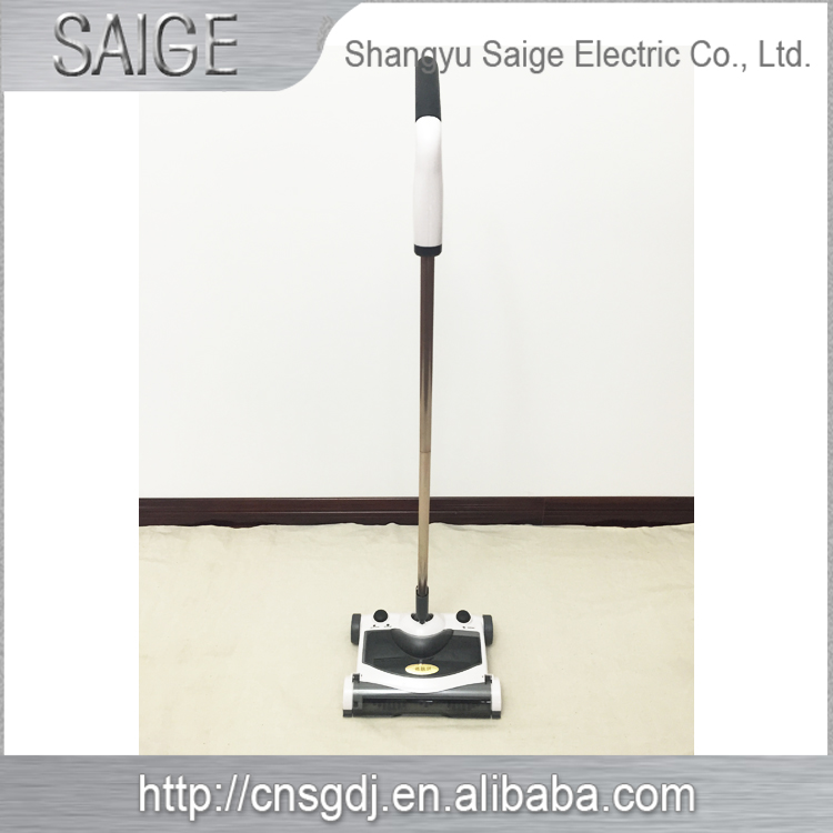 360 Degree Wireless Rechargeable 2 in 1 Handheld Bagless Vacuum Cleaner Electric Sweeper & Mop(China (Mainland))