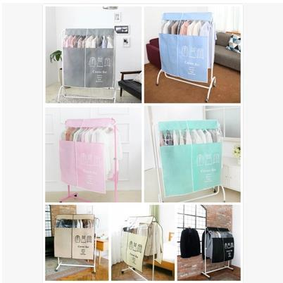 7 colors clothes dust cover storage bag suits dress T-shirt coat home necessaire incorporating closet organizer dustproof cover(China (Mainland))