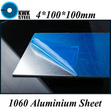 Buy 4*100*100mm Aluminum 1060 Sheet Pure Aluminium Plate DIY Material Free for $7.90 in AliExpress store