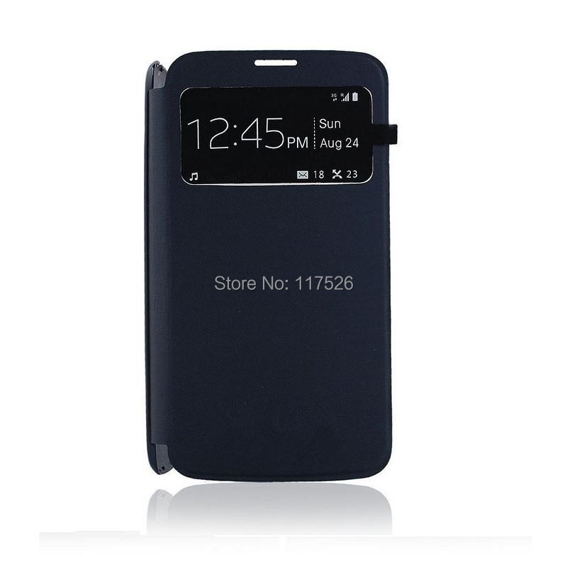 Smart View Window Flip PU Leather Back Battery Cover Case Samsung Galaxy Grand 2 Dous G7102 G7106 G7108 G7109 - Shenzhen Nada Technology Co., Ltd. store