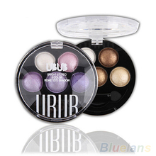 5 Colors Professional Cosmetic Palette Bare Makeup Tool Smoky Shimmer Eye Shadow