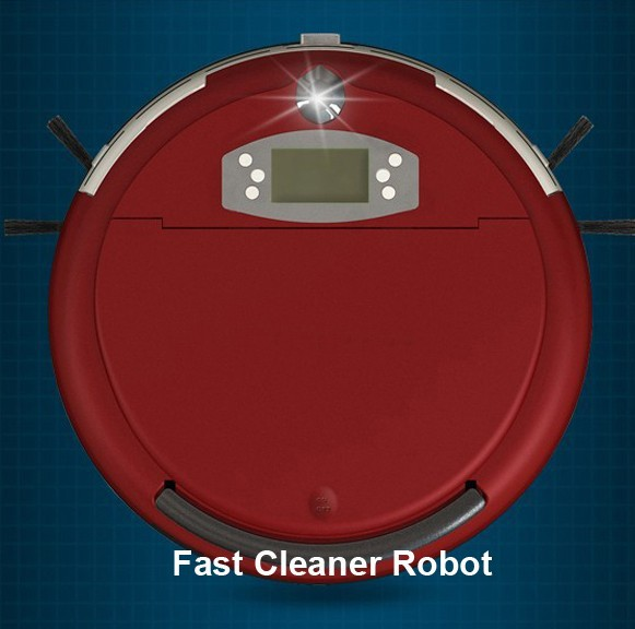 Free Shipping Voice Function Wet and Dry Moping Auto Vacuum Cleaner Robot(China (Mainland))