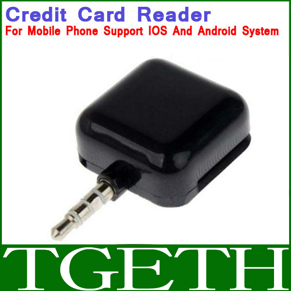 3.5mm Headphone Jack Protable Programmable Magnetic Stripe Credit Card Reader Collector For SmartPhone Free Shipping(China (Mainland))