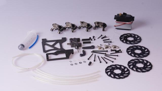 New arrival!!! Hydraulic Disc Brake System for FG Monster Truck 4Wheel(China (Mainland))