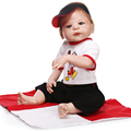 23 INCH 100 reborn babies full silicone body High Simulation fashion Baby Doll creative gift for