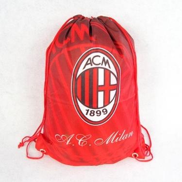2016 AC Milan Backpack Bag Red-Black Shoe Sports Football Backpacks Drop Shipping - jim yue's store