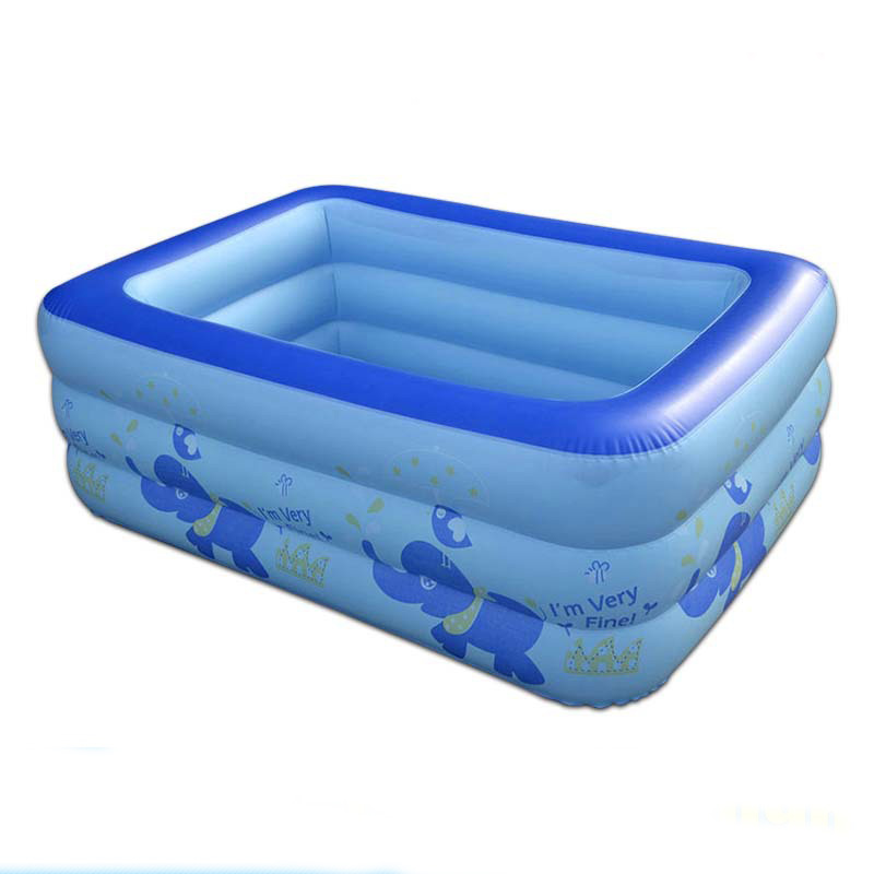 High Quality Children Inflatable <font><b>Pools</b></font> <font><b>Portable</b></font> <font><b>Swimming</b></font> <font><b>Pool</b></font> Baby Outdoor Piscinas Size 150x105x50cm