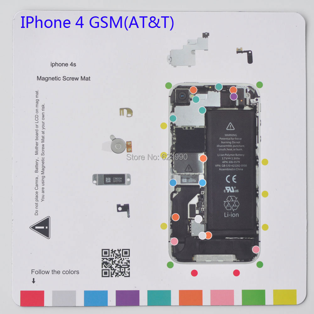 wholesale ifixit type quality aaa 25 20cm magnetic mat screw keeper rh dhgate com iphone 4 screw chart with diagram that shows locations iphone 4 motherboard screw diagram